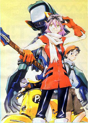 Download Gratis Anime Furi Kuri FLCL Completo