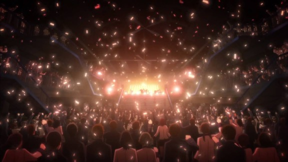 Show of the anime Angel Beats! Girls Dead Monster