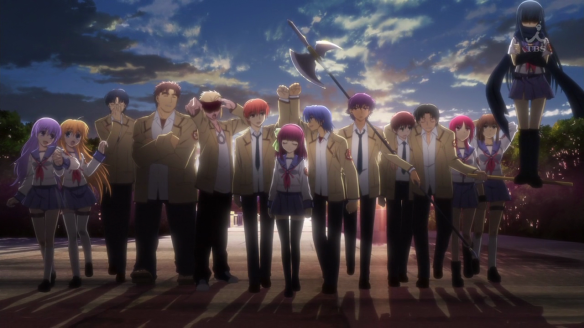 All Characters of the anime Angel Beats!