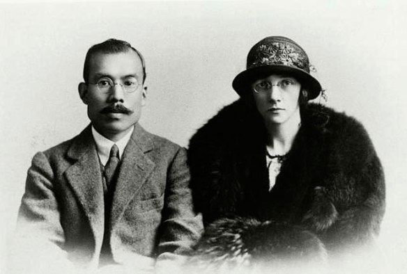 Masataka e Rita Taketsuru, o casal da vida real que inspirou o dorama.