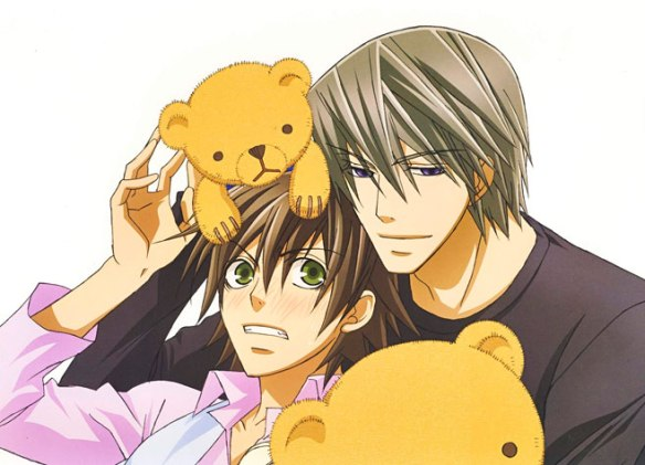 Misaki,  Akihiko e os ursos...