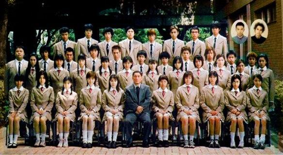 Elenco do Live Action, o ator Takeshi Kitano e a atriz Chiaki Kuriyama (Kill Bill) estão no filme.