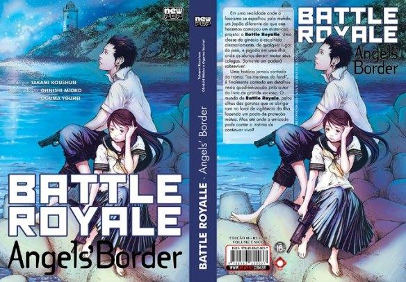 BATTLE ROYALE: Angels' Border (Volume Único)