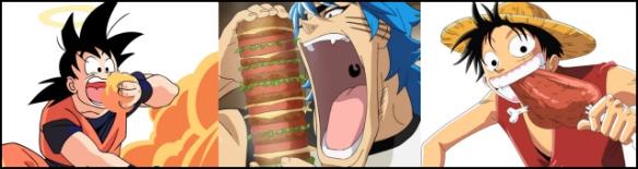 Goku-Luffy-Toriko