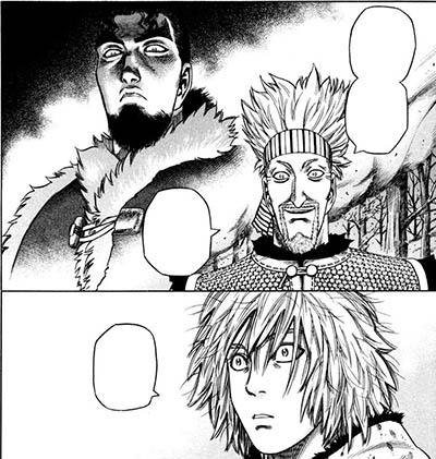 Até o Thorfinn ficou surpreso.