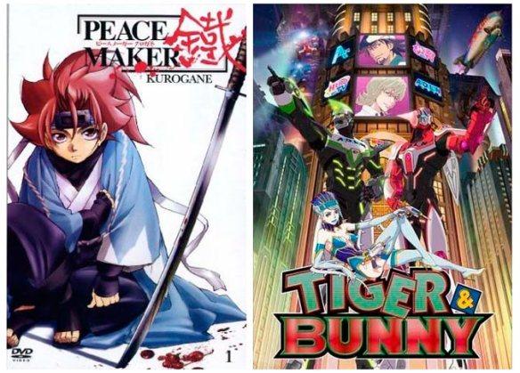 peacemaker kurogane e tiger and bunny