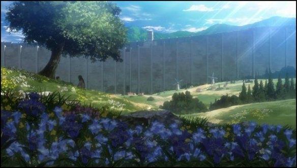 Shingeki-no-Kyojin-garden-wall